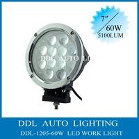 7 inch 60W 60 Watt Cree LED Work Light 4x4 truck tractor offroad fog light LED Bar Spot light boat UTV ATV Drive Light