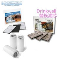 Drinkwell pet water machine filter platinum 360 classic mini filter three packs