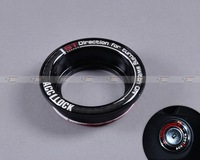 Car Ignition Switch keyhole decoration ring Cover for Ford Focus 2005 2006 2007 2008 2009 2010 2011 2012 Black - CA00469