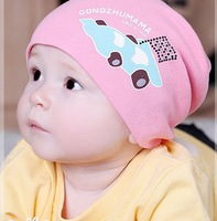 Baby Knitted car hat cute knitted Kids hats Cotton Beanie Infant hat knitted children hat