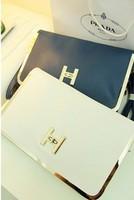 Day clutch 2013 spring and summer women's handbag envelope bag vintage briefcase one shoulder cross-body women's handbag small