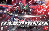 Free shipping 1/144 Gundam Bandai model HG Seed 58 Astray Red Frame flight Unit red Gundam