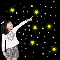 Moon luminous stickers wall stickers child cartoon decoration real neon
