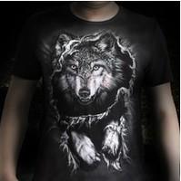 2013 3D effect T-shirt Korean leisure short sleeve animal pattern T-shirt Men short t shirt 100% cotton high quality