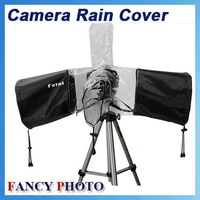 Professional Rubber Camera Rain Cover Coat Bag Protector Rainwear Waterproof Against Dust for Canon Nikon Pendax Sony DSLR SLR