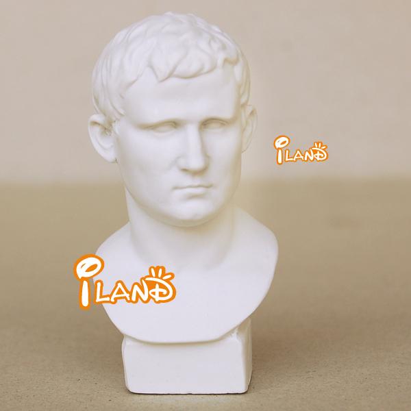 1/12 Dollhouse Miniature Agrippa Statue Bust Resin Well made HO028G
