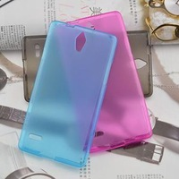 TPU Matte soft case (1 pcs) for Huawei G700 cell phone cover