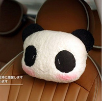 Headrest car neck pillow exhaust pipe bone pillow car headrest cartoon headrest neck pillow the price of two face