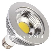 Free shipping 10WATT COB LED PAR 30 SPOT LIGHT, FIN-ALUMINUM HOUSING