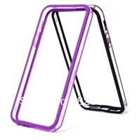 DHL Free  shipping   Transparent Plastic + TPU Material Bumper Frame for iPhone 5C