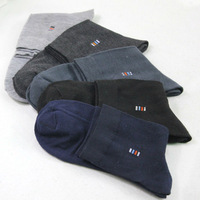 Autumn New Arrival Business Socks Men Solid Color Comfortable Cotton Meias 10pcs/lot (= 5 pairs) Free Shipping