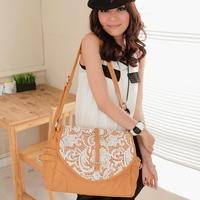 473 female bags 2013 vintage  lace flip bags rivet  handbag cross-body women's handbag  shoulder bags fringe bird