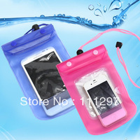 Free shipping Waterproof Camera Pouch Dry Case Bag for Camera Mobile Phone waterproof mobilephone bag
