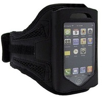 GYM ARMBAND ARM CASE BLACK SPORTS RUNNING CYCLING JOGGING Bag FOR IPHONE 3GS/4/4G/4S