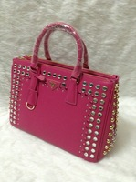 2013 New ARRIVAL!! Women Fashion Tote Bag Covered with Diamonds Ems free shipping
