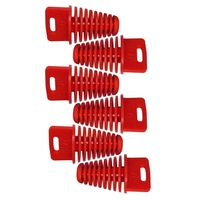 Free shipping 6pcs Big Red ZXTD Exhaust Pipe Muffler Silencer 4-Stroke Plug for Motorbike
