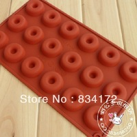 1 X Silicone cake mould even the doughnuts chocolate mould pudding jelly mold Free Shipping