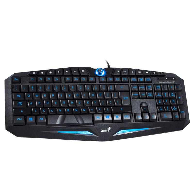 Fairy k9 luminous backlit keyboard computer cf usb wired gaming keyboard two-color led lighting(China (Mainland))