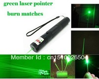 Official original high quality Laser ST301 200mw  Green Laser Pointer Pen  Zoomable Burning Matches with retail box full set