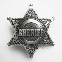 3D Original Western SHERI  Fashion Wild Retro Anqitue Metal Belt Buckles Free Shipping LALAS