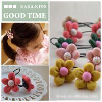 , mixed color Knitting Sunflower girls/kids/bady/children hairbands/ hair accessories/headwears