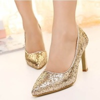 T&T Shop 2013 Prom Heels Wedding Shoes Women High Heels Crystal High Heel Shoes Platforms Silver Rhinestone Pumps Free Shipping