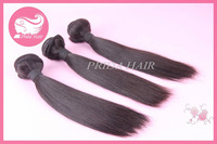 "Free shipping malaysian virgin straight hair mixed length 3pcs /lot natural color 10-26"" available"