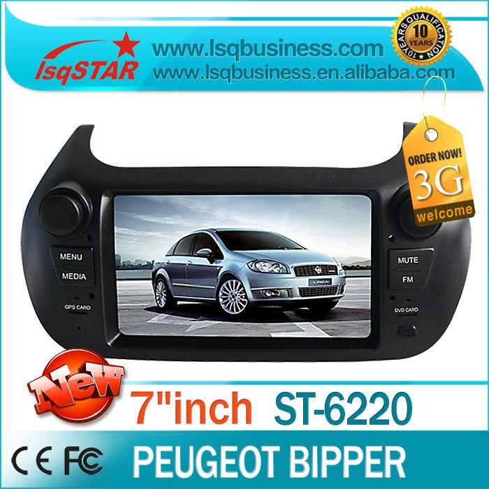 LSQ Star Peugeot Bipper Autoradio GPS Navigation with GPS,DVD,BT phonebook, A2DP, IPOD, USB, SD, 6CDC, PIP, Free shipping!(China (Mainland))