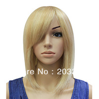 Cool Sexy Blonde #613 Short Straight Bob Hair Wig free shipping