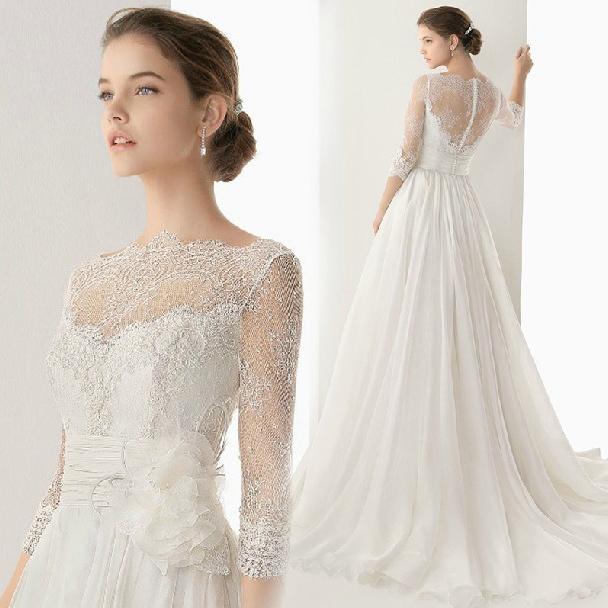 Custom made- chegada nova moda de luxo sexy voile em um andar- linha de trem tribunal vestidos de noiva/vestidos de noiva com rendas cs3310