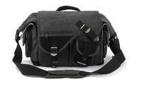 One-shoulder canvas camera bag durable solid professional digital camera backpack