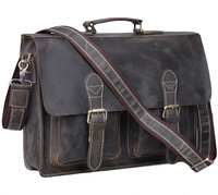 free shipping by EMS!!2013 fashion genuine leather handbag men's bags messenger bag Laptop Briefcase bags shoulder bags 1061