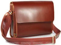 free shipping by EMS!!2013 fashion high quality genuine leather handbag men's bags messenger bag man totes shoulder bags 1018