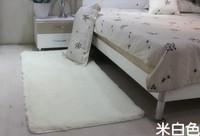 On sale 80*120cm white carpet Fashion super soft carpet area rug slip-resistant mat doormat bath mat Free shipping
