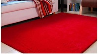 On sale 80*120cm red carpet soft rugs and carpets washable living room carpet rug for home floor mat Free shipping