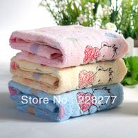 Free Shipping, 5pcs/Lot 100% Cotton Square Towel 34X34CM 45g/piece , cheap and good quality from factory