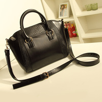 new 2013 Ms han edition crocodile grain portable worn one shoulder bag