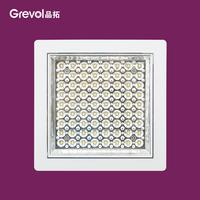 Embedded Balcony Ceiling Lights Kitchen Bathroom Light Flat Panel Lighting LED Lamps