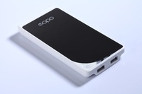 portable power for mobile phone  two  USB    10000 mAh  capacity
