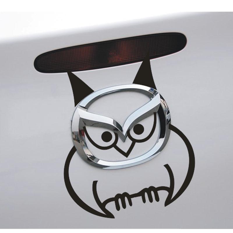 Mazda logo sticker mazda3 gebrek mazda6 mazda2 ster galop m5 m6