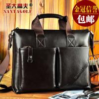 Free  shpping  2013 new  fashion handbag business bag/ laptop bmessenger bag