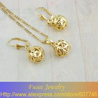 TIGI00418 18K Gold Filled Fashion Jewelry Set