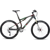 Java mountain bike carbon-sus-xt soft carbon frame magura air fork xt transmission