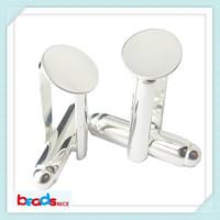 Beadsnice ID4743 elegant designer cufflinks high quality mens cufflinks wholesale unique slope cuff link blanks