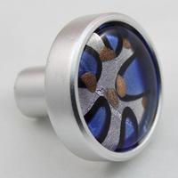 Fashion simple Modern Coloured glaze&aluminum oxide Pedestal Furniture Handle Creative Shoes Cabinet Knobs Cupboard  Pull