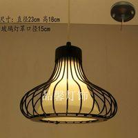 Brief tieyi small pendant light gourd pendant light bar table lamps single head