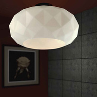 modern brief  Muranodue deluxe  personalized diamond  ceiling light