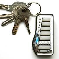 Novelty Key Chain Follow Me Xylo Mini Piano Game Keychain