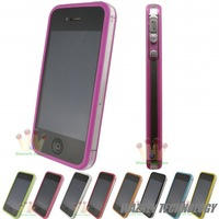 100pcs/lot**HOT Selling! bumpers Case Cover with retail package for iPhone 4 4s free shipping