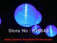 "5pcs/ lot 12"" solar lantern lamp Energy Saving Yard Ligthing for Christmas New Year Holiday Lighting free Shipping"